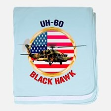 UH-60 Black Hawk baby blanket