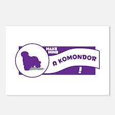 Make Mine Komondor Postcards (Package of 8)