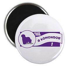 Make Mine Komondor Magnet