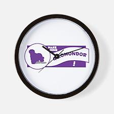 Make Mine Komondor Wall Clock