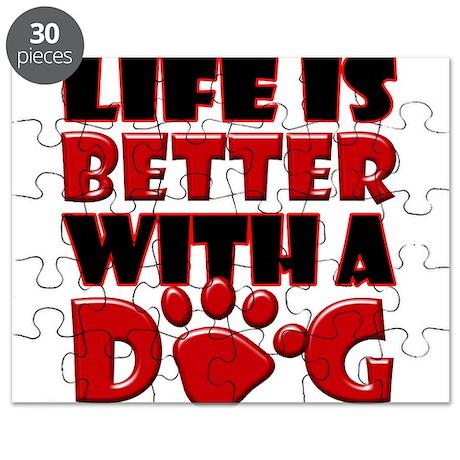 LifeBetterWithDog copy Puzzle