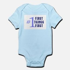 First Things First Body Suit