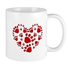 DogHeart copy Mugs
