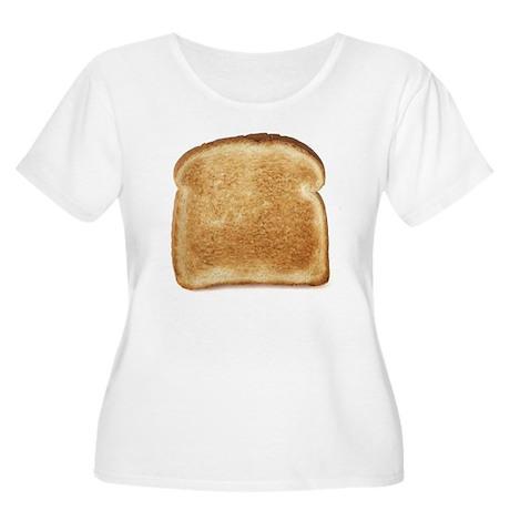 Toast Women's Plus Size Scoop Neck T-Shirt