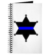 Blue Line Badge 2 Journal