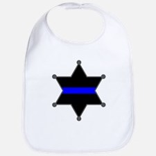 Blue Line Badge 2 Bib