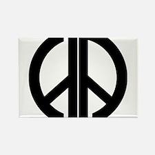 AA Peace Symbol Magnets