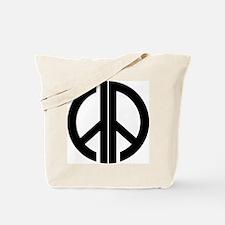 AA Peace Symbol Tote Bag