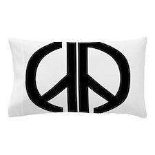 AA Peace Symbol Pillow Case