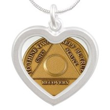 Alcoholics Anonymous Anniversary Chip Necklaces