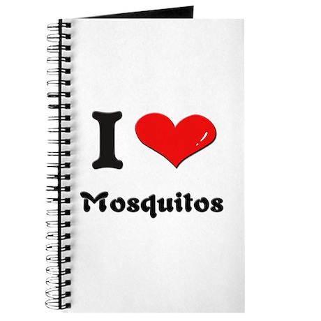 I love mosquitos Journal