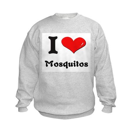 I love mosquitos Kids Sweatshirt
