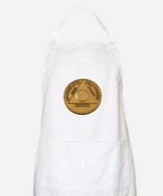 Alcoholics Anonymous Anniversary Chip Apron