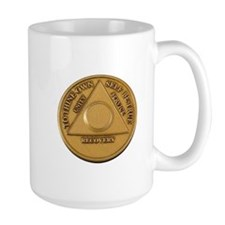 Alcoholics Anonymous Anniversary Chip Mugs