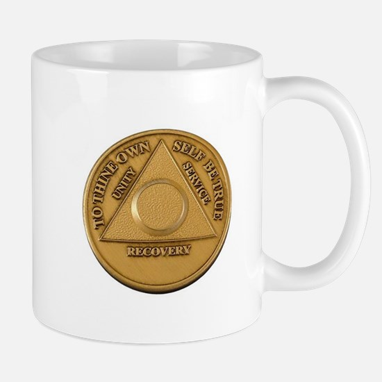 Alcoholics Anonymous Anniversary Chip Mugs