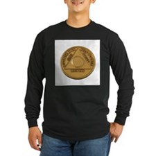 Alcoholics Anonymous Anniversary Chip T