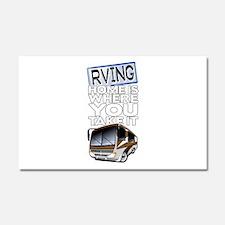 RVing 2 Car Magnet 20 x 12