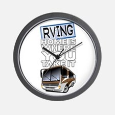 RVing 2 Wall Clock