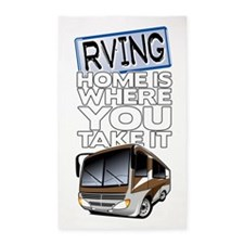 RVing 2 3'x5' Area Rug