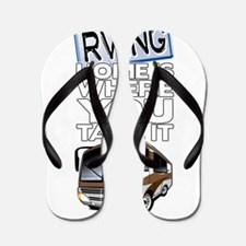 RVing 2 Flip Flops