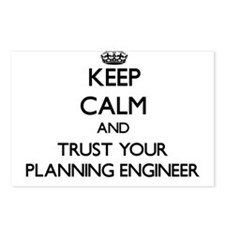 Keep Calm and Trust Your Planning Engineer Postcar
