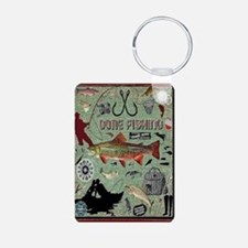 Gone Fishing Keychains Keychains