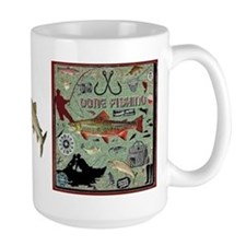 Gone Fishing Coffee MugMugs