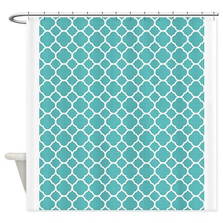 quatrefoil shower curtain by patternsandtextures