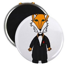The Fox Father Magnets