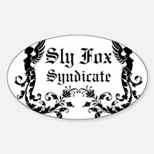 Sly Fox Syndicate Logo Decal