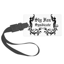 Sly Fox Syndicate Logo Luggage Tag