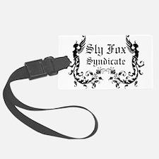Sly Fox Syndicate Logo Luggage Tag