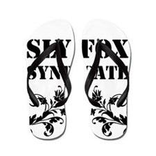 Sly Fox Syndicate Logo Bold Flip Flops