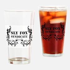 Sly Fox Syndicate Logo Bold Drinking Glass