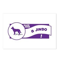 Make Mine Jindo Postcards (Package of 8)