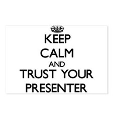 Keep Calm and Trust Your Presenter Postcards (Pack