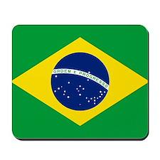 Flag of Brazil Mousepad