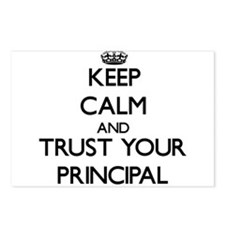 Keep Calm and Trust Your Principal Postcards (Pack