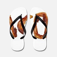 Bacon in the Shade of Bacon Flip Flops