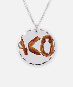 Bacon in the Shade of Bacon Necklace
