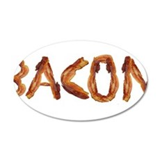 Bacon in the Shade of Bacon Wall Decal