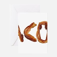 Bacon in the Shade of Bacon Greeting Cards