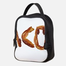 Bacon in the Shade of Bacon Neoprene Lunch Bag
