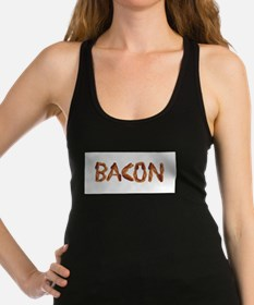 Bacon in the Shade of Bacon Racerback Tank Top