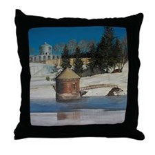 Hew Britain Reservoir,Ct Throw Pillow