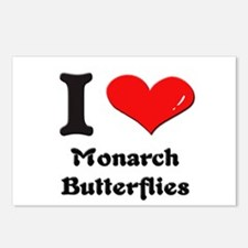 I love monarch butterflies  Postcards (Package of