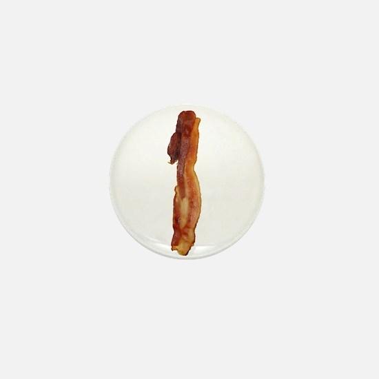 Bacon Strip Vertical Mini Button