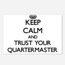 Keep Calm and Trust Your Quartermaster Postcards (