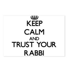 Keep Calm and Trust Your Rabbi Postcards (Package