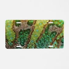 Chameleon Skin Texture Aluminum License Plate